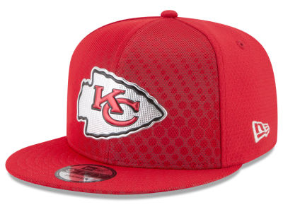 Kansas City Chiefs New Era 2017 NFL On Field Color Rush 9FIFTY Snapback Cap
