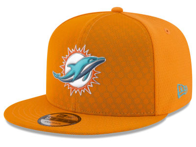 Miami Dolphins New Era 2017 NFL On Field Color Rush 9FIFTY Snapback Cap