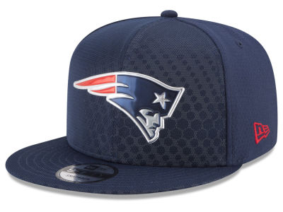 New England Patriots New Era 2017 NFL On Field Color Rush 9FIFTY Snapback Cap