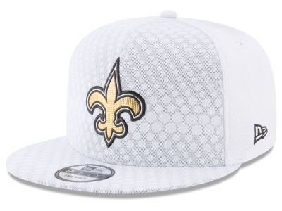 New Orleans Saints New Era 2017 NFL On Field Color Rush 9FIFTY Snapback Cap