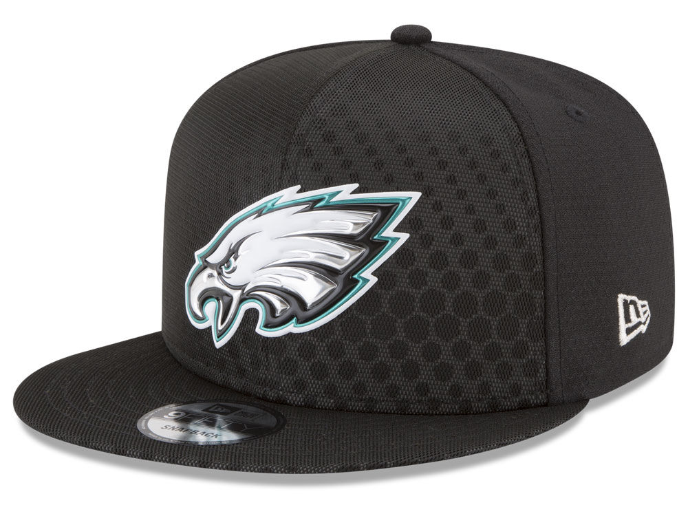 2328f2b08 Philadelphia Eagles New Era 2017 NFL On Field Color Rush 9FIFTY Snapback Cap
