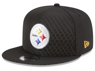Pittsburgh Steelers New Era 2017 NFL On Field Color Rush 9FIFTY Snapback Cap