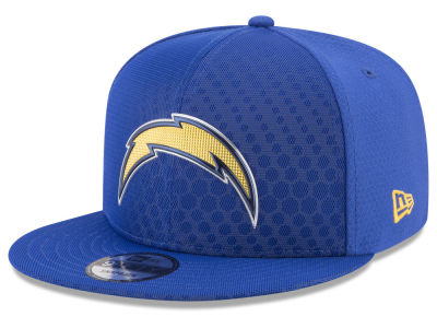 Los Angeles Chargers New Era 2017 NFL On Field Color Rush 9FIFTY Snapback Cap