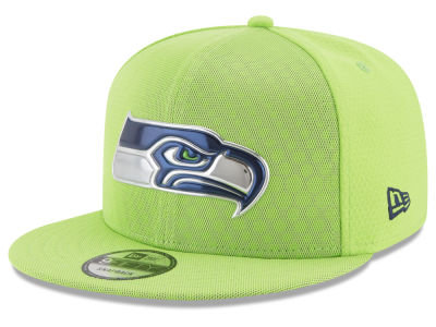 Seattle Seahawks New Era 2017 NFL On Field Color Rush 9FIFTY Snapback Cap