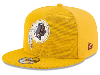 Washington Redskins New Era 2017 NFL On Field Color Rush 9FIFTY Snapback Cap
