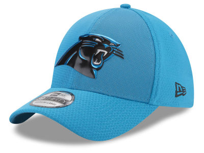 Carolina Panthers New Era 2017 NFL On Field Color Rush 39THIRTY Cap