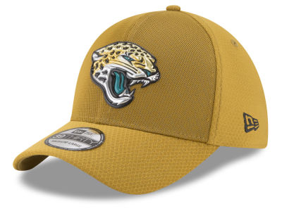 Jacksonville Jaguars New Era 2017 NFL On Field Color Rush 39THIRTY Cap