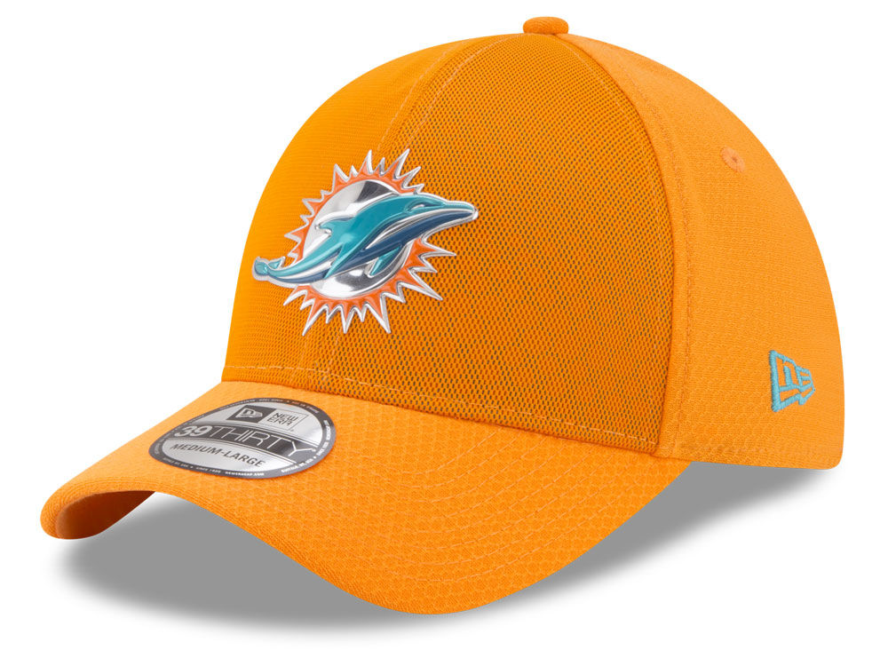 100% authentic c0be7 117f1 ... czech miami dolphins new era 2017 nfl on field color rush 39thirty cap  a1502 22600