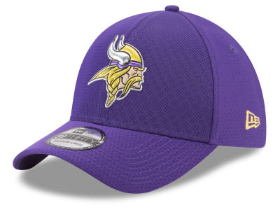 Minnesota Vikings New Era 2017 NFL On Field Color Rush 39THIRTY Cap