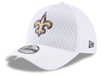 New Orleans Saints New Era 2017 NFL On Field Color Rush 39THIRTY Cap