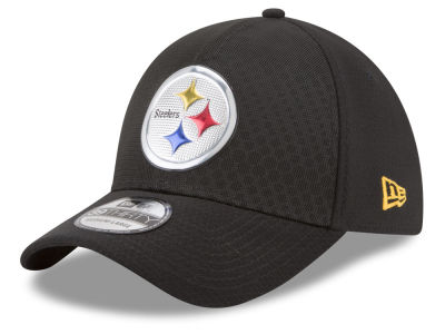 Pittsburgh Steelers New Era 2017 NFL On Field Color Rush 39THIRTY Cap