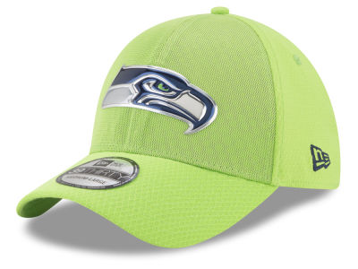 Seattle Seahawks New Era 2017 NFL On Field Color Rush 39THIRTY Cap