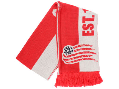 New England Revolution adidas MLS Jersey Hook Up Scarf