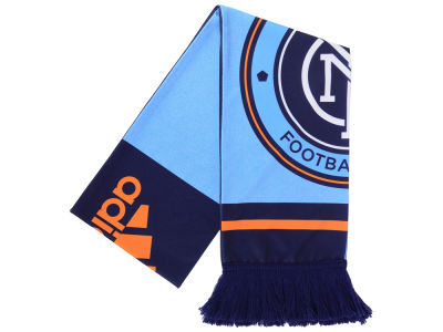 New York City FC adidas MLS Jersey Hook Up Scarf