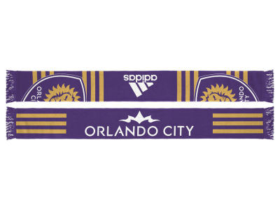 Orlando City SC adidas MLS Jersey Hook Up Scarf
