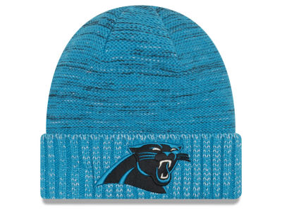 Carolina Panthers New Era 2017 NFL On Field Color Rush Cuff Knit
