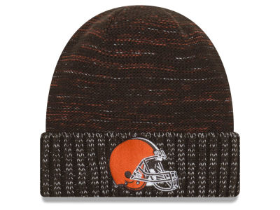 Cleveland Browns New Era 2017 NFL On Field Color Rush Cuff Knit