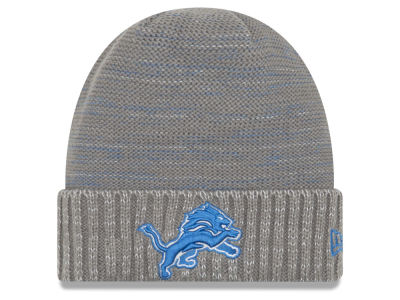 Detroit Lions New Era 2017 NFL On Field Color Rush Cuff Knit
