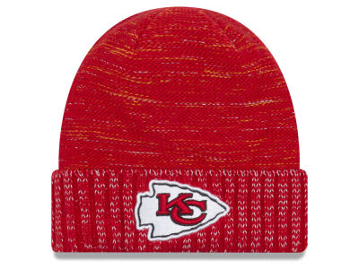 Kansas City Chiefs New Era 2017 NFL On Field Color Rush Cuff Knit