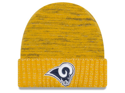 Los Angeles Rams New Era 2017 NFL On Field Color Rush Cuff Knit
