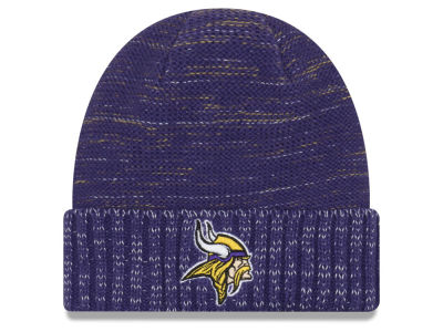 Minnesota Vikings New Era 2017 NFL On Field Color Rush Cuff Knit