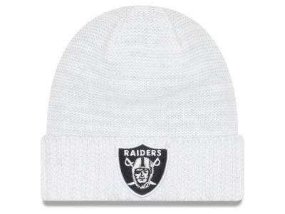Oakland Raiders New Era 2017 NFL On Field Color Rush Cuff Knit