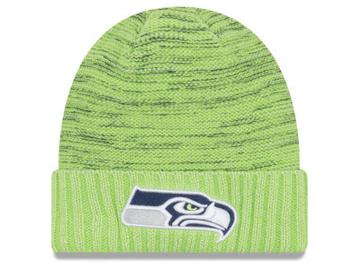 Seattle Seahawks New Era 2017 NFL On Field Color Rush Cuff Knit