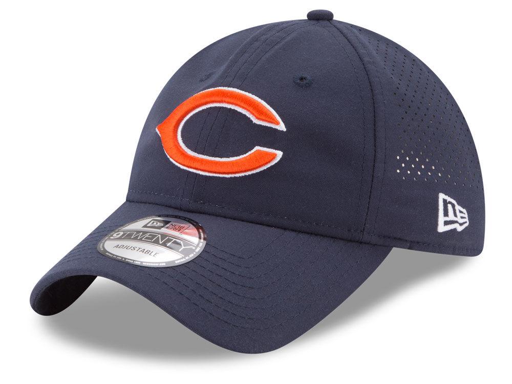 Chicago Bears New Era 2017 NFL Training Camp 9TWENTY Cap  02587ccfc19
