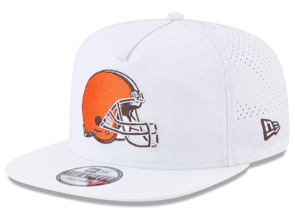Cleveland Browns New Era 2017 NFL Training Camp A-Frame Snapback Cap ...