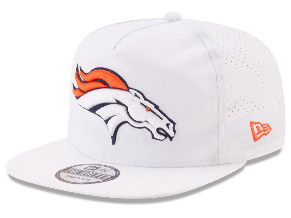 Denver Broncos New Era 2017 NFL Training Camp A-Frame Snapback Cap ...