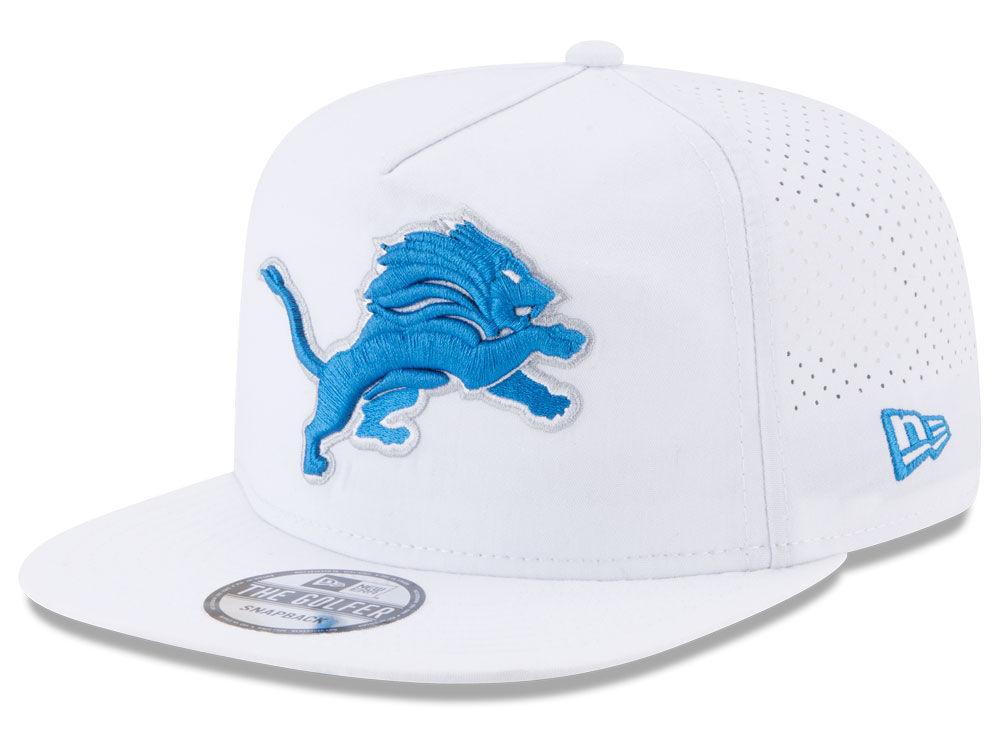 Detroit Lions New Era 2017 NFL Training Camp A-Frame Snapback Cap ...