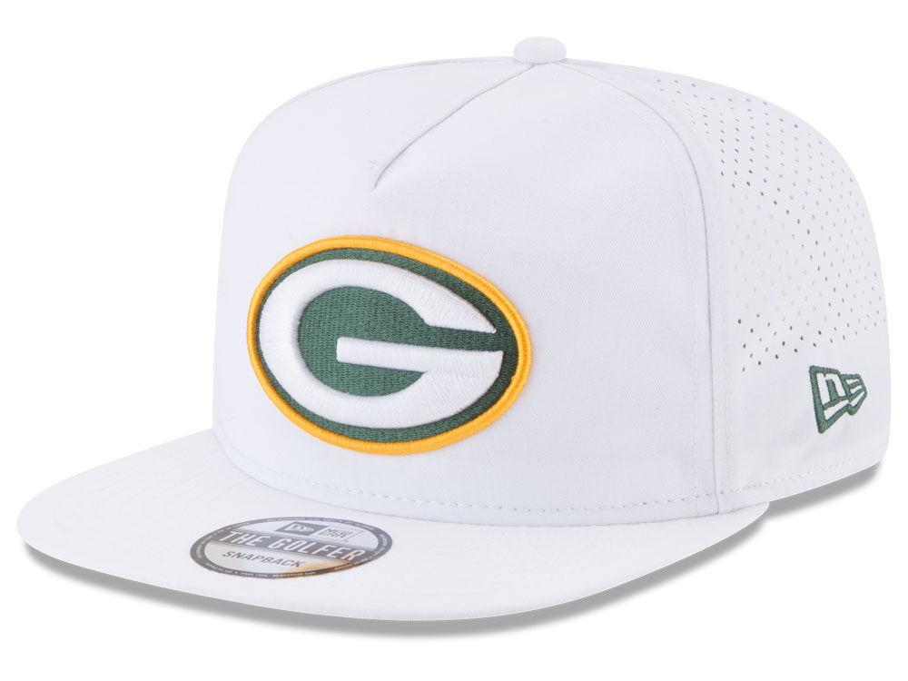 Green Bay Packers New Era 2017 NFL Training Camp A-Frame Snapback ...