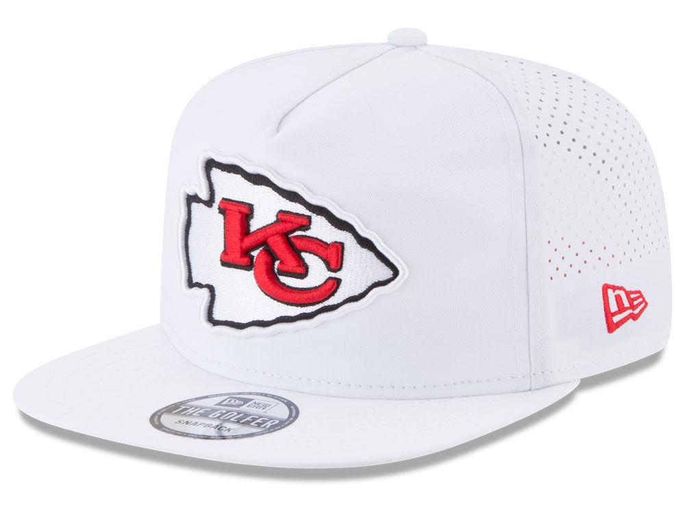 Kansas City Chiefs New Era 2017 NFL Training Camp A-Frame Snapback ...