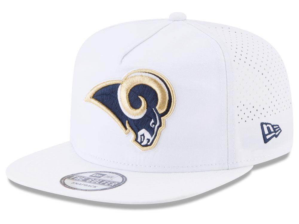 Los Angeles Rams New Era 2017 NFL Training Camp A-Frame Snapback Cap ...