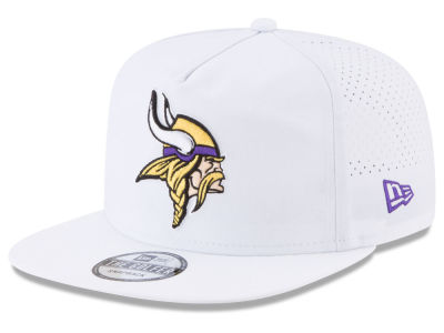 Minnesota Vikings New Era 2017 NFL Training Camp A-Frame Snapback Cap