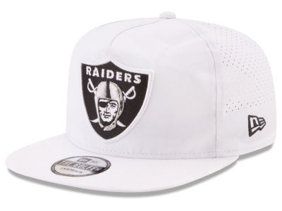 Oakland Raiders New Era 2017 NFL Training A-Frame Cap