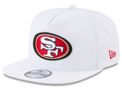 San Francisco 49ers New Era 2017 NFL Training Camp A-Frame Snapback Cap