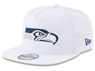 Seattle Seahawks New Era 2017 NFL Training Camp A-Frame Snapback Cap