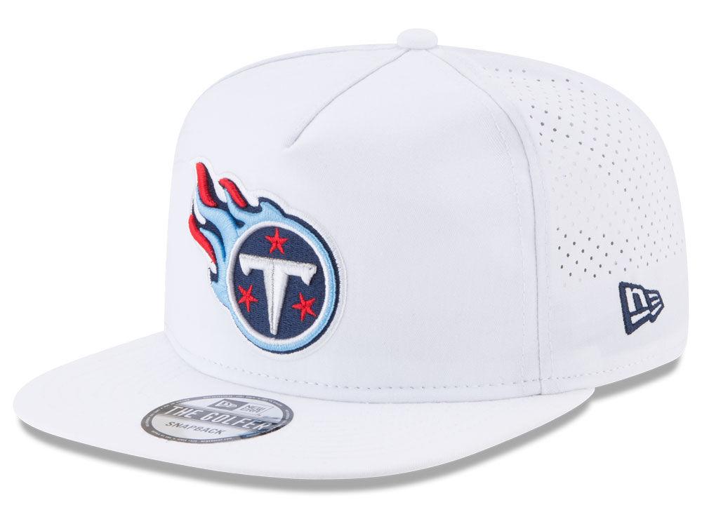 Tennessee Titans New Era 2017 NFL Training Camp A-Frame Snapback Cap ...