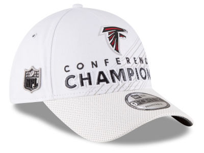 Atlanta Falcons New Era NFL Super Bowl LI Conference Champ Locker Room 9FORTY Cap