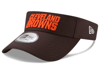 Cleveland Browns New Era 2017 NFL Training Visor