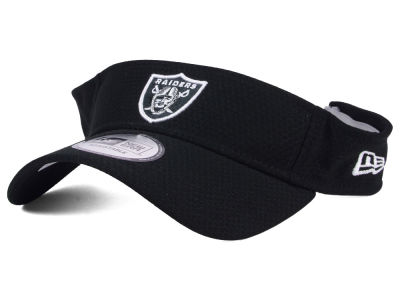Oakland Raiders New Era 2017 NFL Training Visor