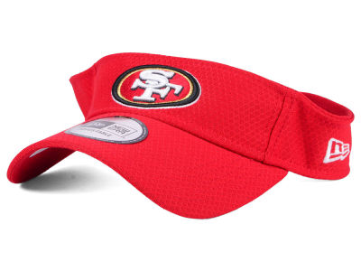 San Francisco 49ers New Era 2017 NFL Training Visor