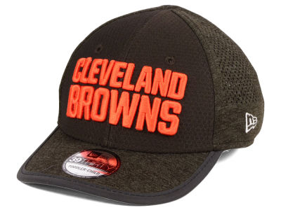 Cleveland Browns New Era 2017 Kids NFL Training Camp 39THIRTY Cap