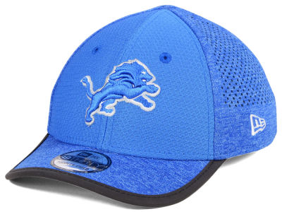 Detroit Lions New Era 2017 Kids NFL Training 39THIRTY Cap