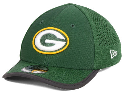 Green Bay Packers New Era 2017 Kids NFL Training Camp 39THIRTY Cap