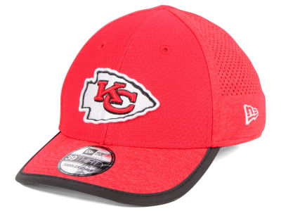 Kansas City Chiefs New Era 2017 Kids NFL Training 39THIRTY Cap