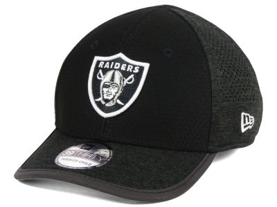 Oakland Raiders New Era 2017 Kids NFL Training 39THIRTY Cap