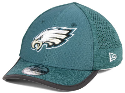 Philadelphia Eagles New Era 2017 Kids NFL Training 39THIRTY Cap