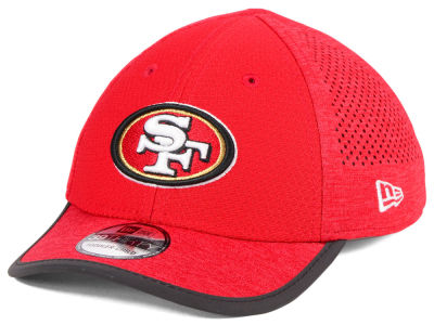San Francisco 49ers New Era 2017 Kids NFL Training 39THIRTY Cap